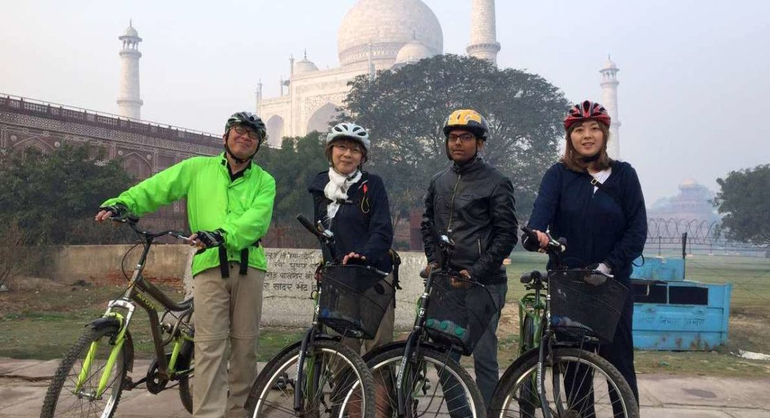 Agra cycling tour